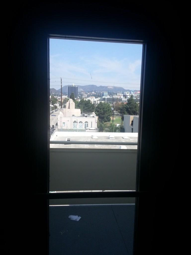 EDGE, widok z okna