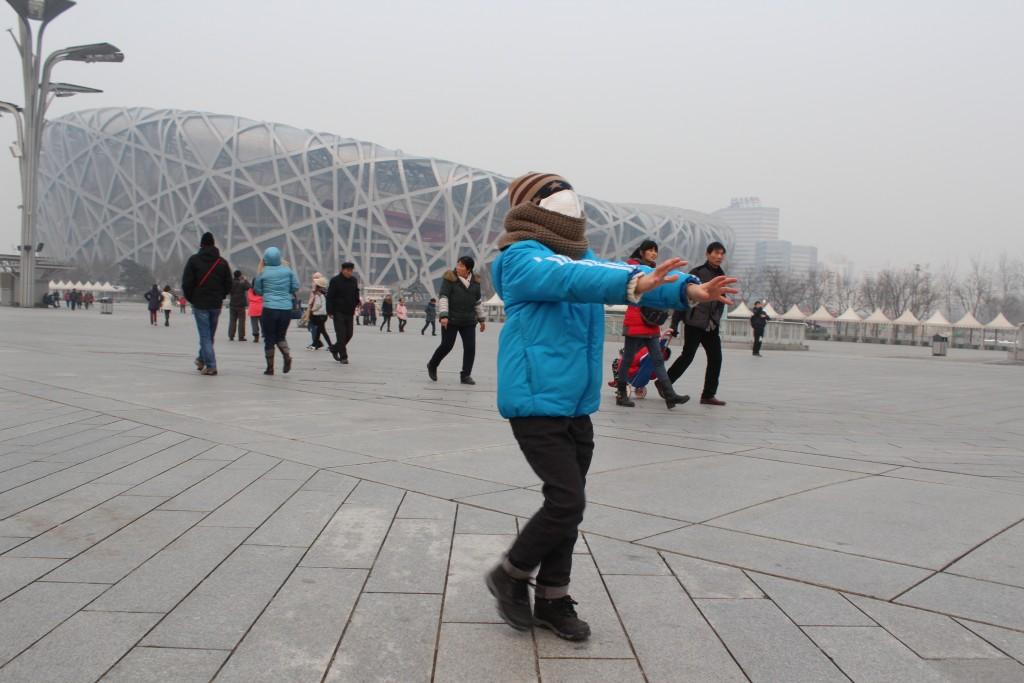 Chiny, Pekin, stadion Bird's Nest
