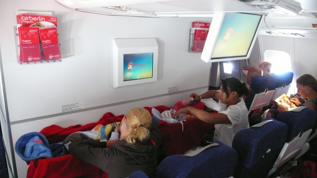 Kołyska w samolot na Phuket