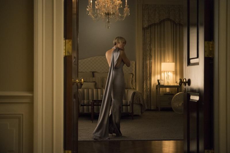 Kolejna piękna stylizacja w srebrnej sukience Ralph Lauren