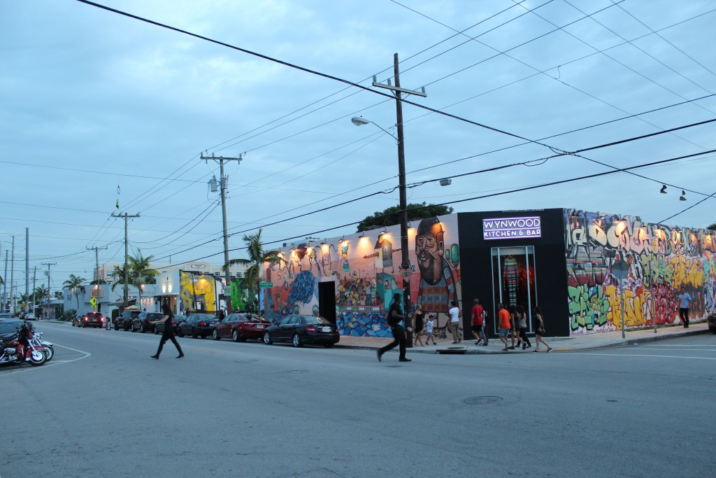 Arts District i Wynwood Walls w Miami na Florydzie.