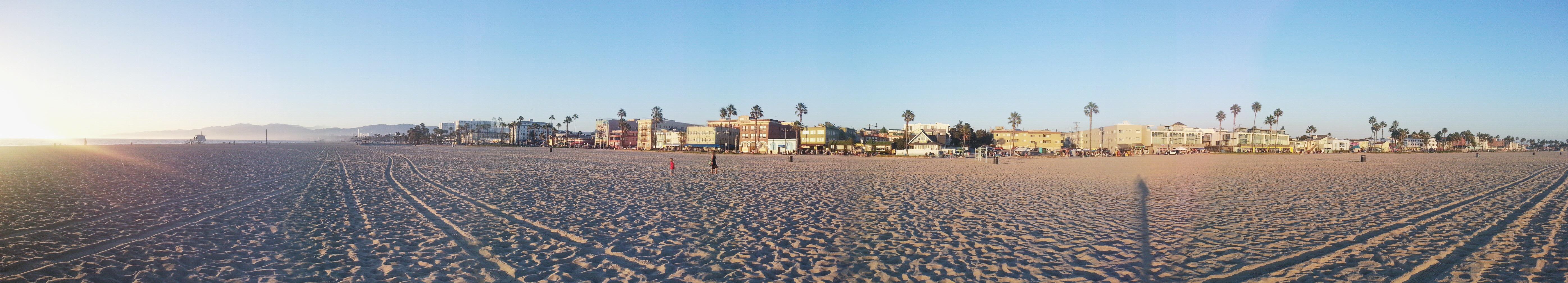 USA, plaża Venice Beach