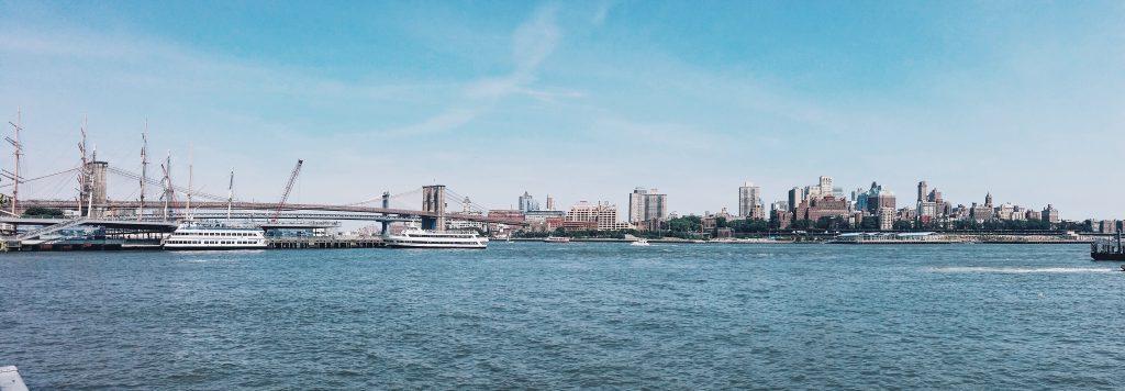 USA, Nowy Jork, widok na Manhattan