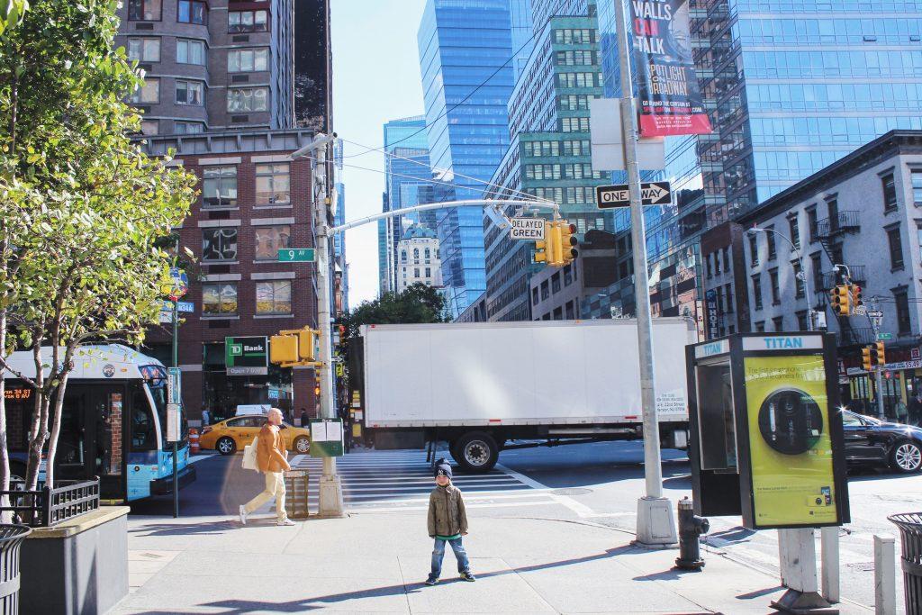 USA, Nowy Jork, gdzieś na Manhattanie