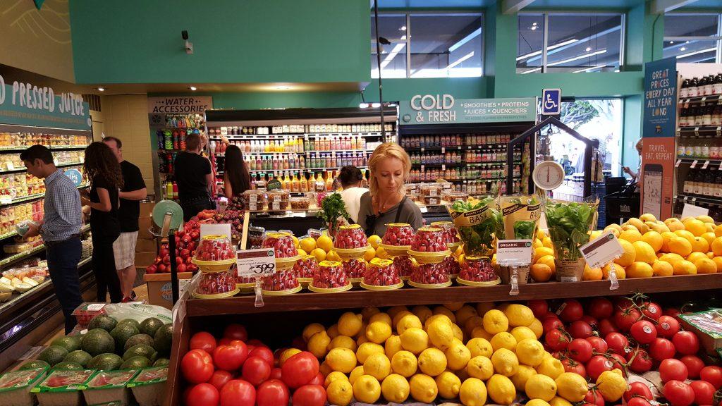 Whole foods market w Santa Monica
