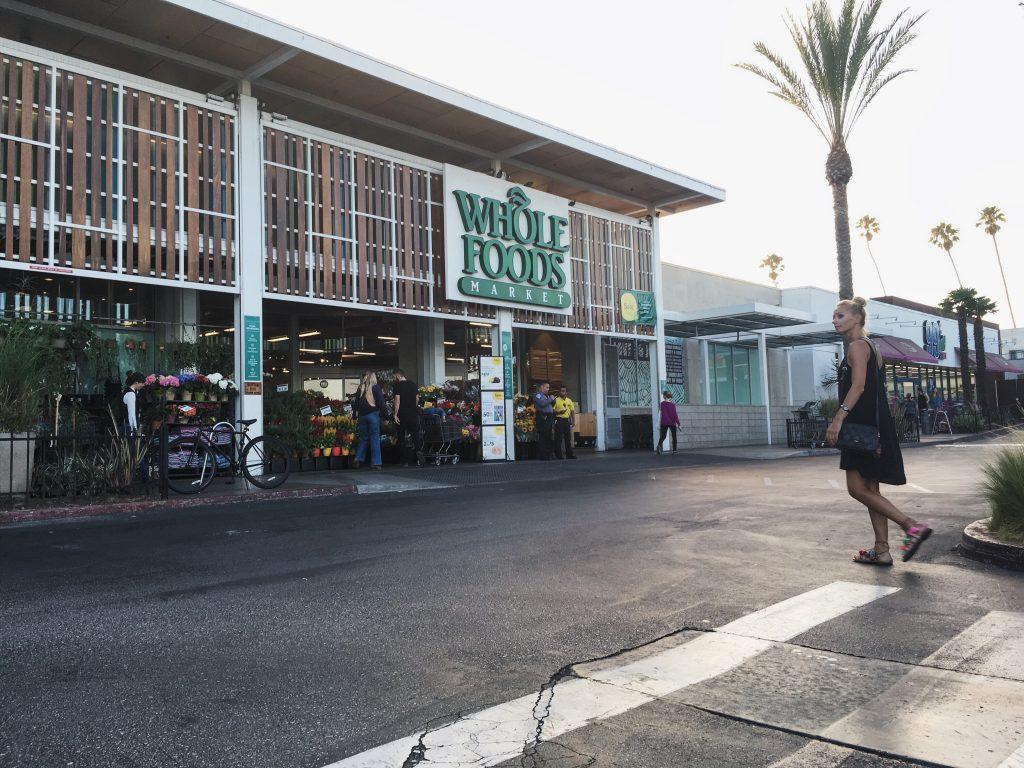 Sklep z organiczną żywnością Whole Foods Market w Venice Beach