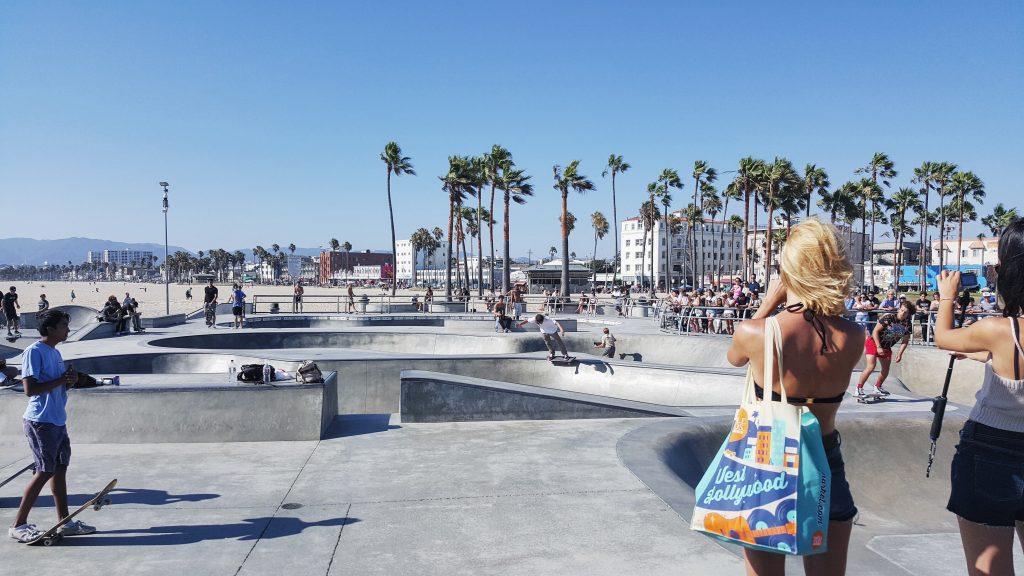Skatepark w Venice Beach, Kalifornia