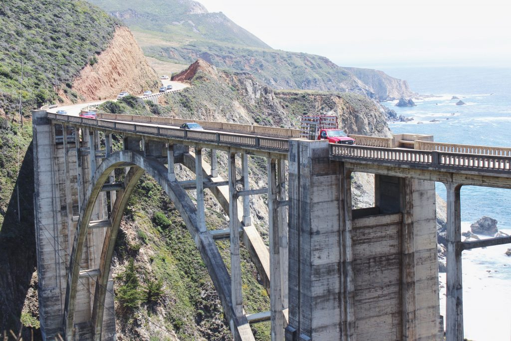 Kalifornia, Big Sur, Bixby Bridge