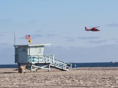 Kalifornia, plaża w Santa Monica