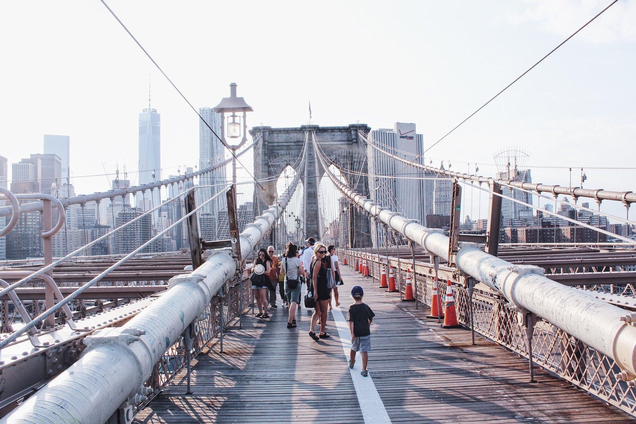 USA, Nowy Jork, Most Brookliński