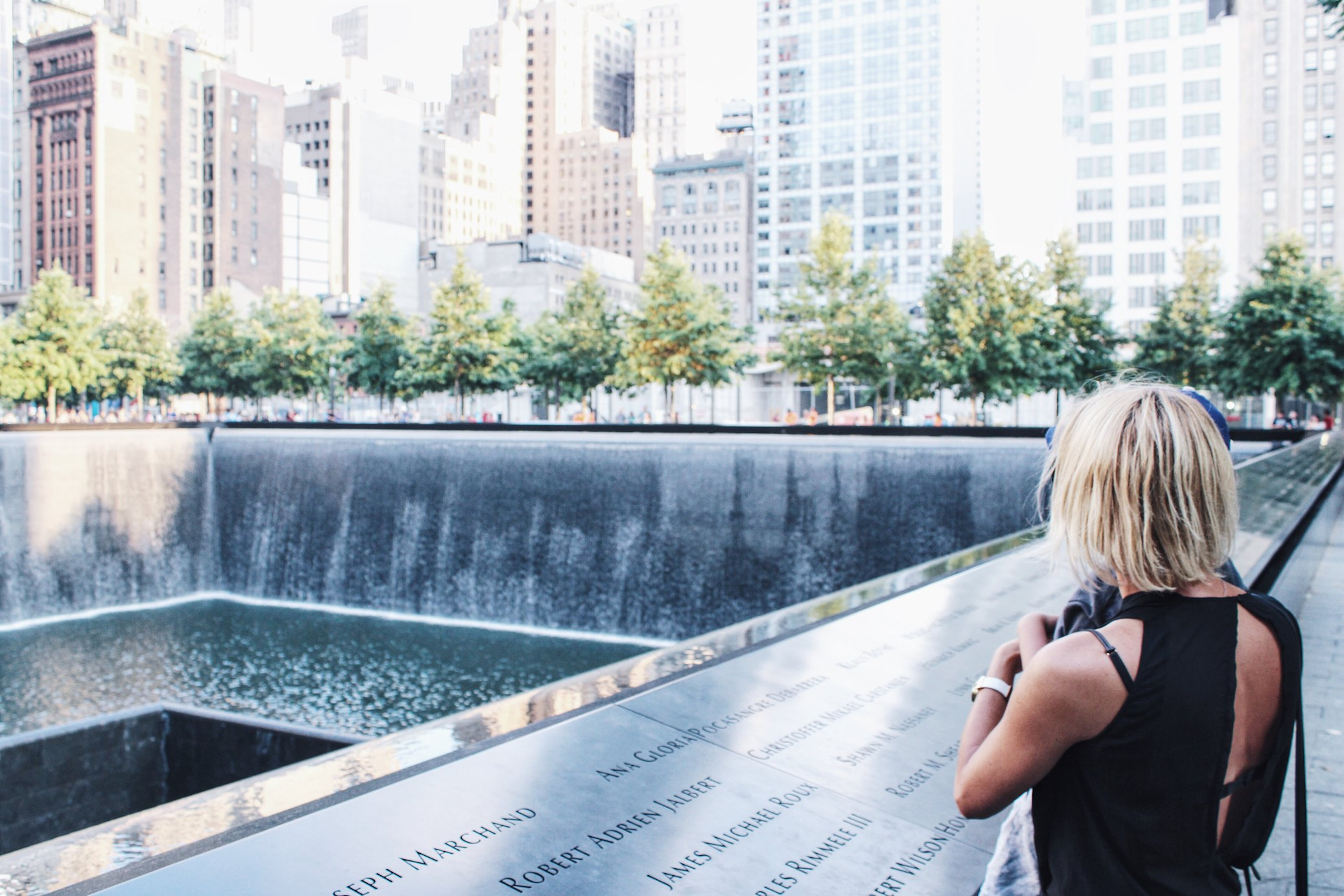 USA, Nowy Jork, 9/11 memorial