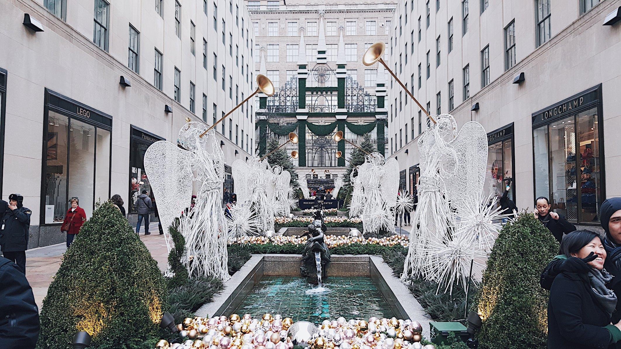 USA, Nowy Jork, Rockefeller Center