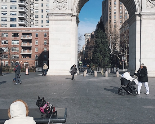 USA, Nowy Jork, Washington Square Park