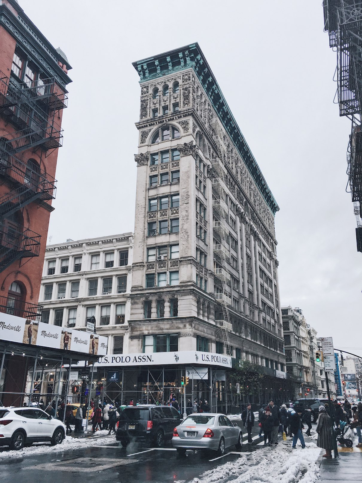 USA, Nowy Jork, SoHo