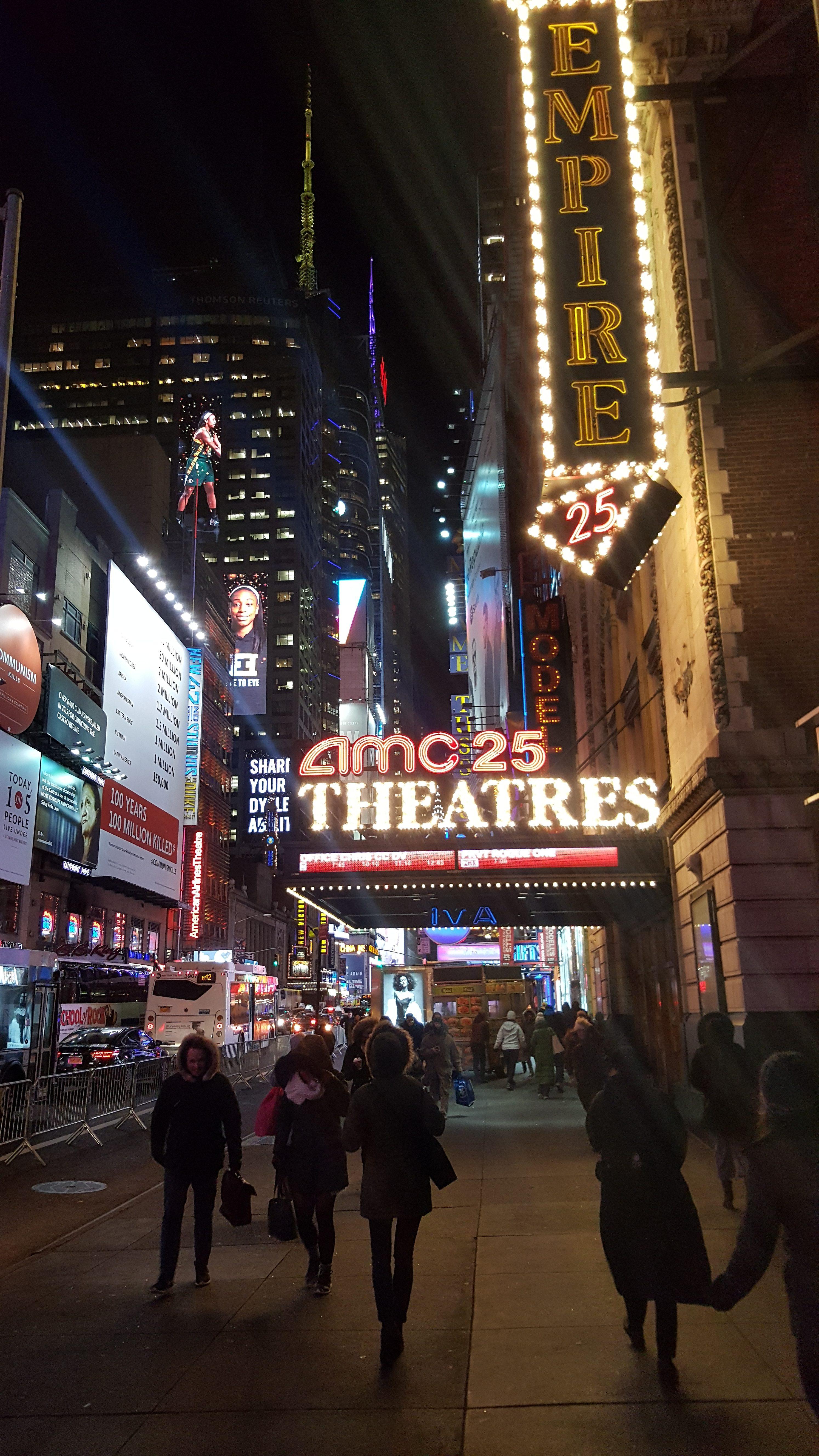 USA, Nowy Jork, 42 street