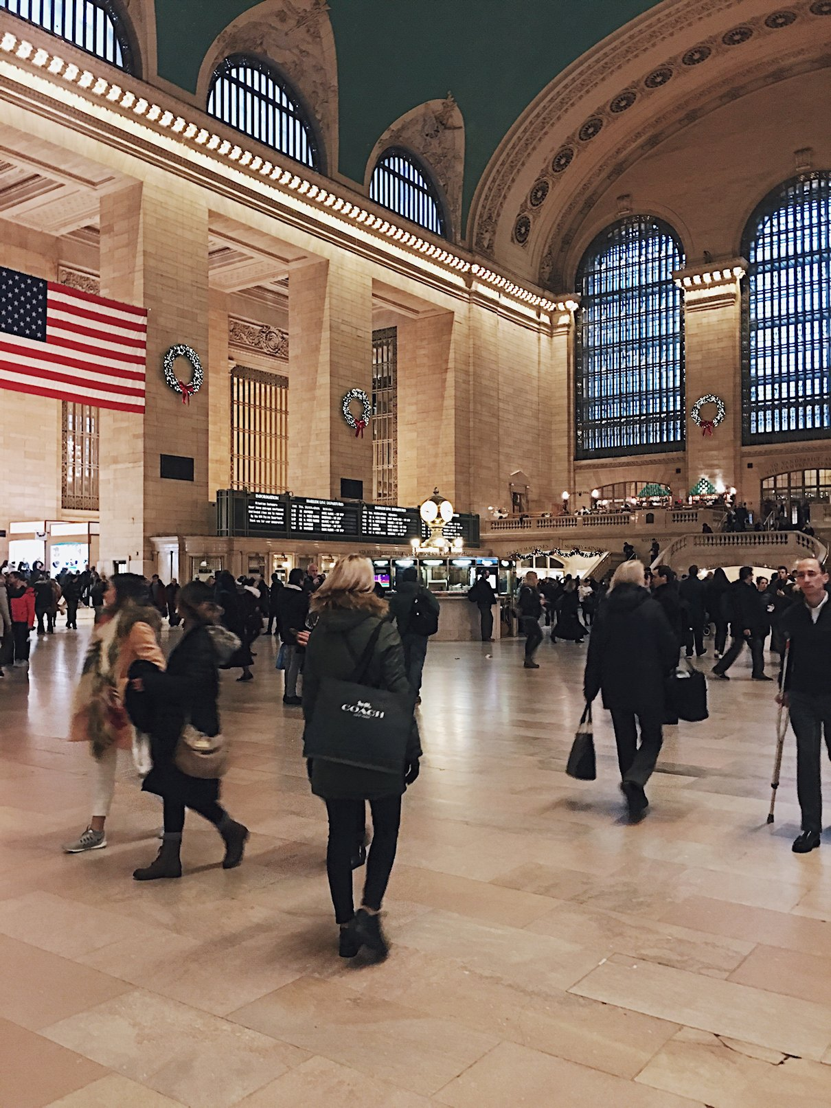 USA, Nowy Jork, dworzec Grand Central