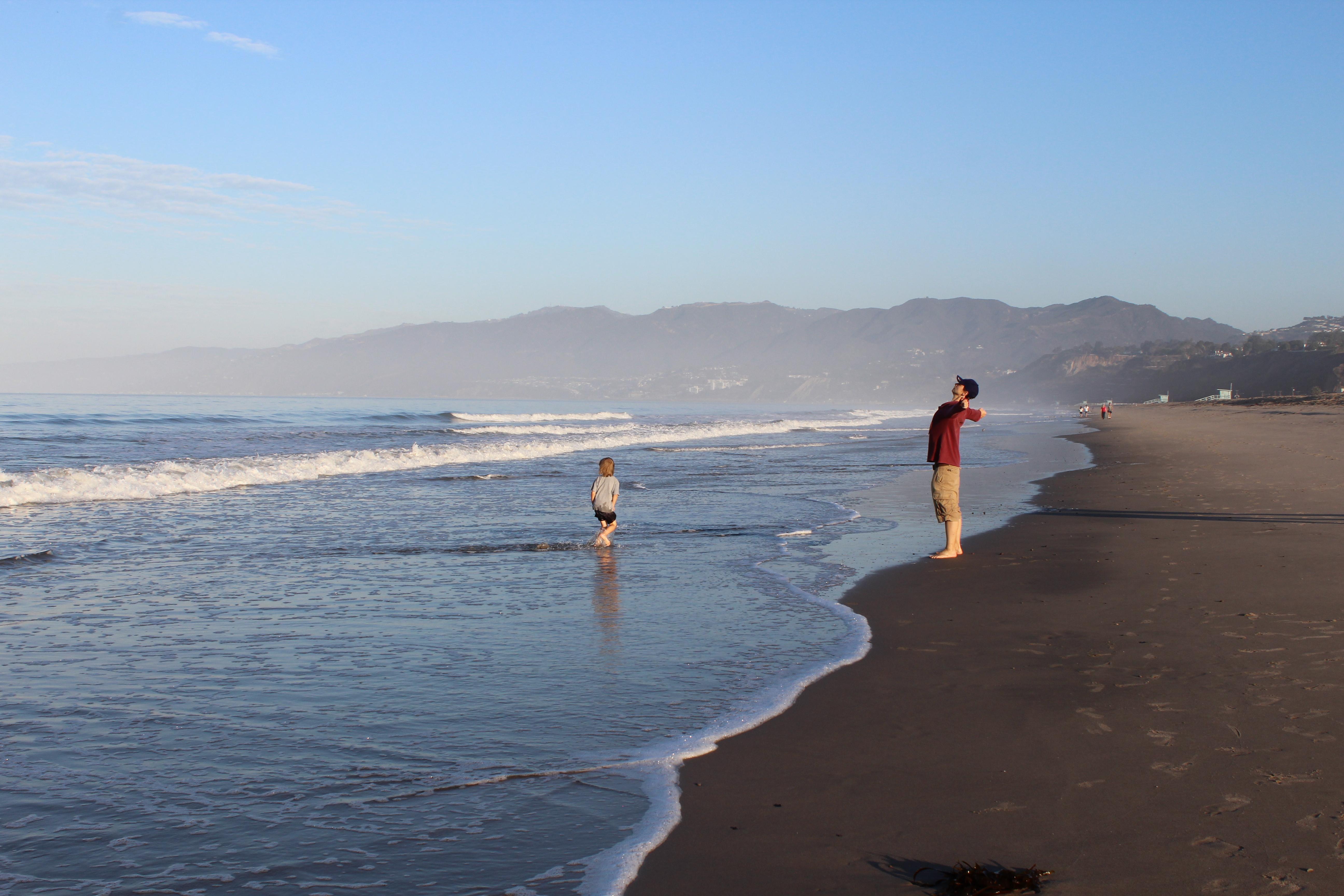 USA, plaża w Santa Monica
