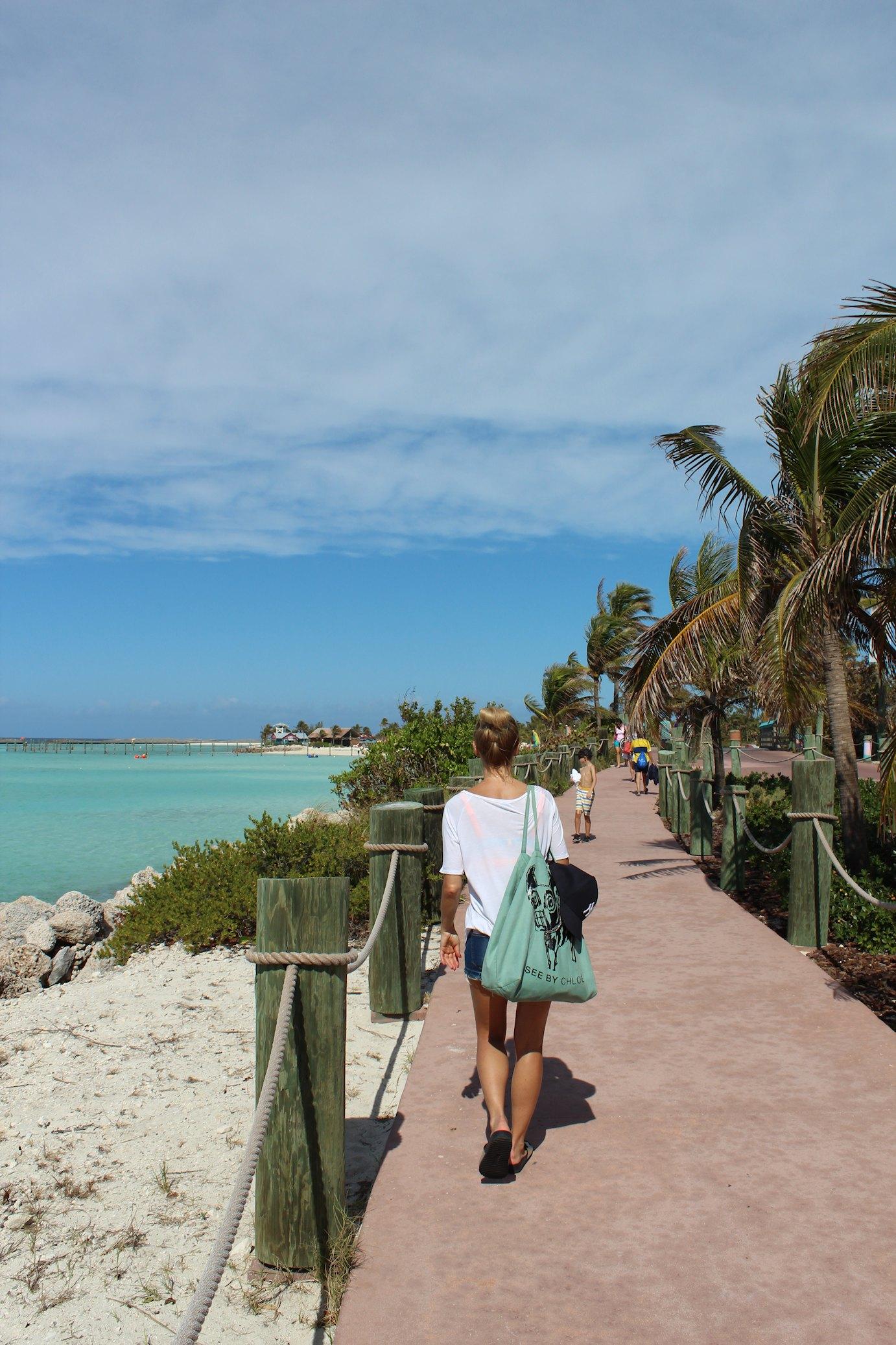 Karaiby, Castaway Cay, statek Disney Dream
