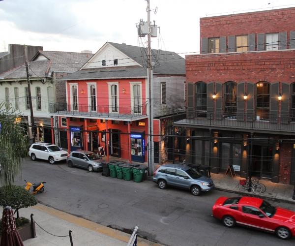 Widok z Hotelu 519 Frenchmen Street, Nowy Orlean