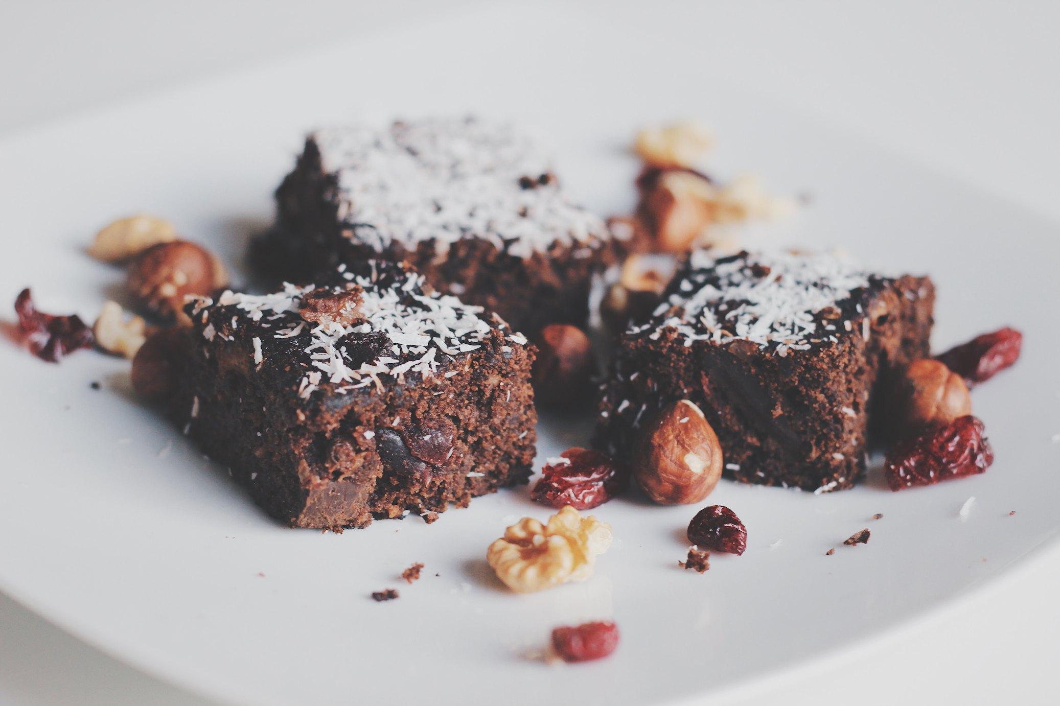 Brownie, fit ciasto czekoladowe z buraków