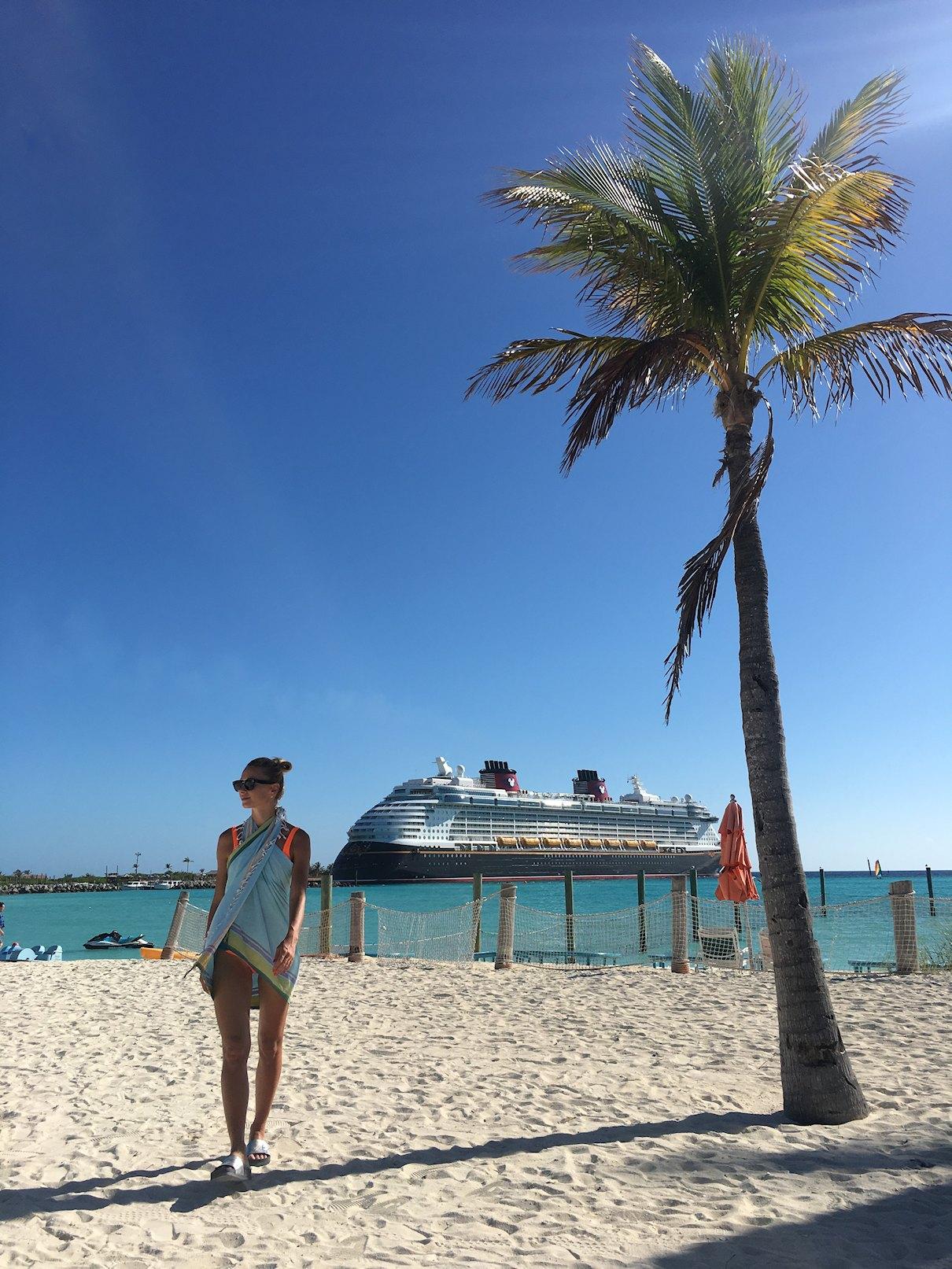 Castaway Cay, Bahamy, prywatna wyspa Disney'a